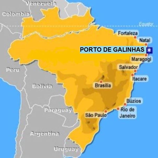 gra y hugo de viaje porto de galinhas brasil