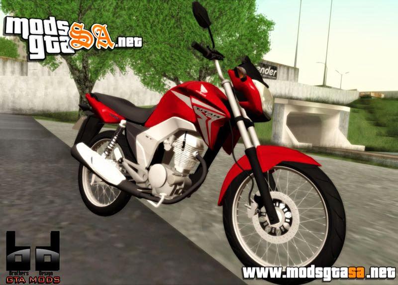 SA - Honda CG Titan 150 2014