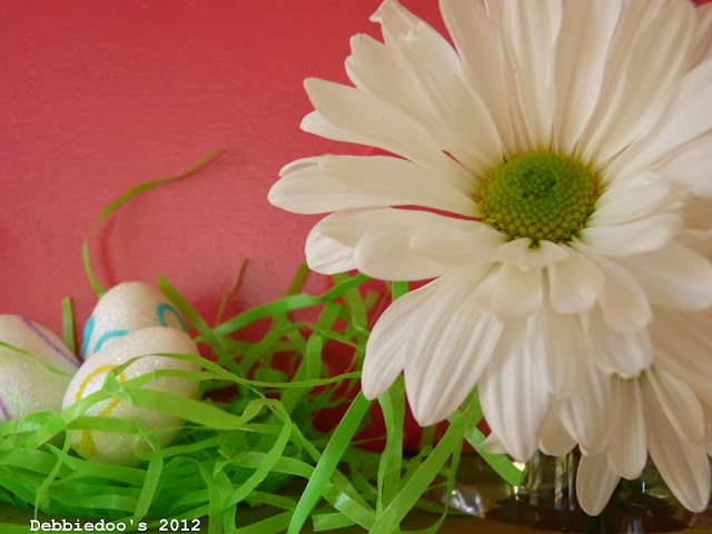 Spring art work {diy canvas}