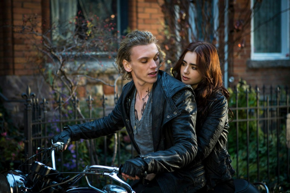 you portrayal of Jace  Jace And Clary Kiss Gif