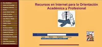 Recursos en Internet para a Orientación Académica e Profesional