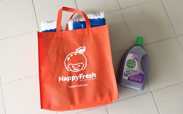 HappyFresh Grocery Delivery, HappyFresh, Grocery delivery