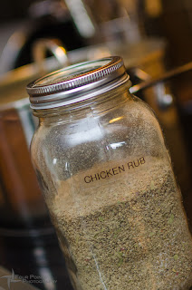 jar of Sean's Smoked Chicken Rub