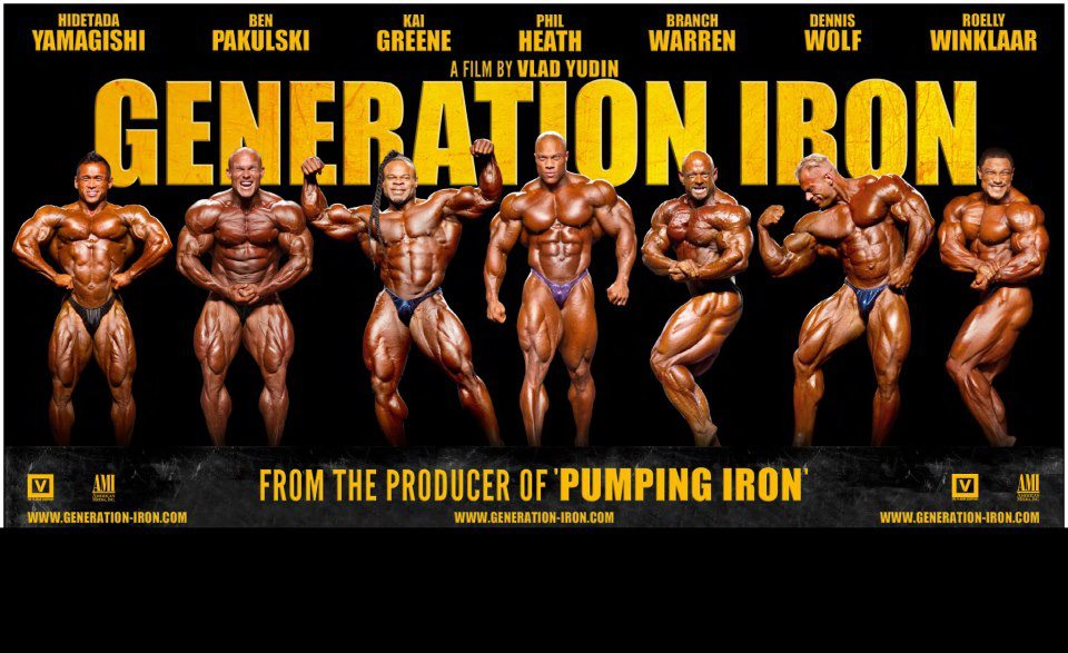 My Protein Shop Generation Iron The Movie