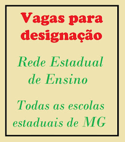 Vagas para Designação MG