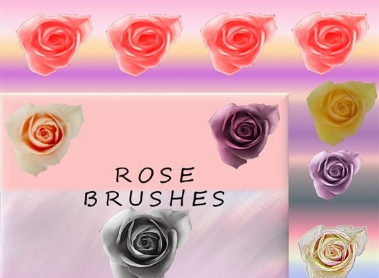 Rosey GIMP Rose Brushes for Photoshop