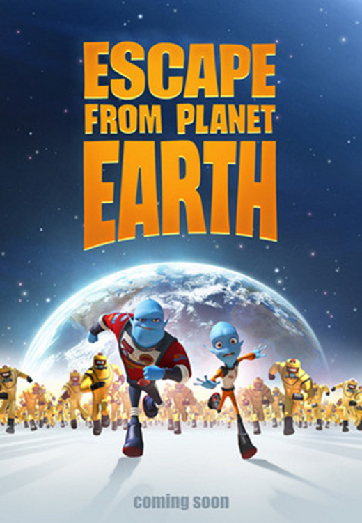 Escape From Planet Earth - Poster (2013)