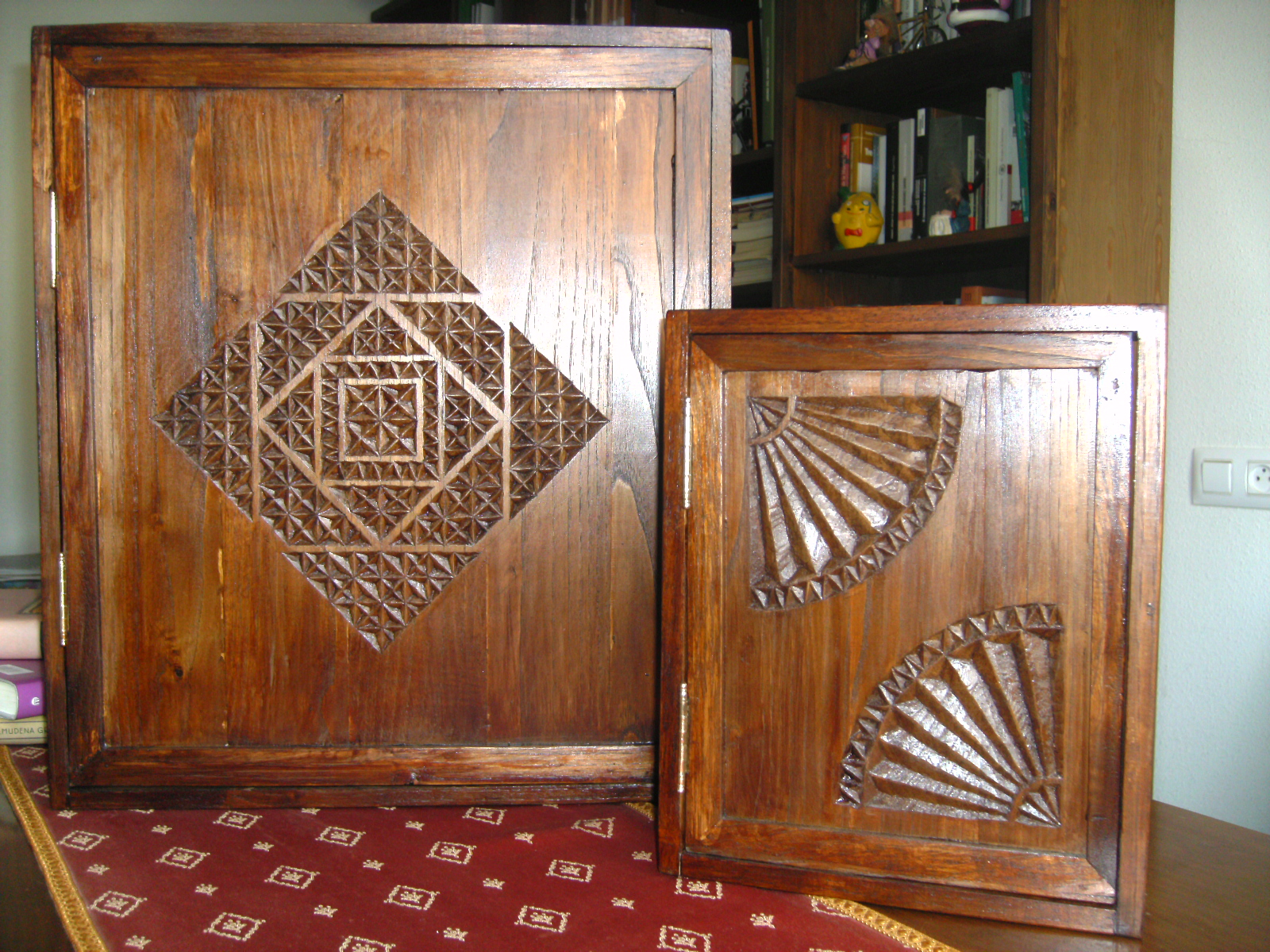 Decoraci n en madera para el hogar tapaluces de madera for Decoracion en madera para el hogar