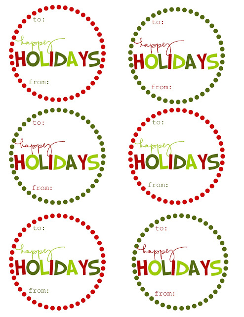Satisfactory image intended for printable christmas gift labels