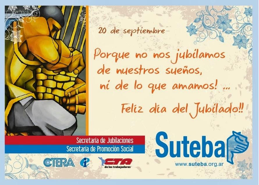 20 DE SEPTIEMBRE - DIA DEL JUBILLADO / A
