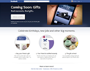 is introducingGifts where you can give your friends gifts . (facebook gifts)