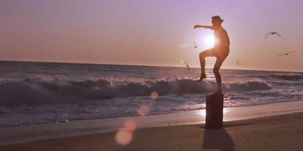 The Karate Kid (1984), from Columbia Pictures. Director: John G. Avildsen, Writer: Robert Mark Kamen.