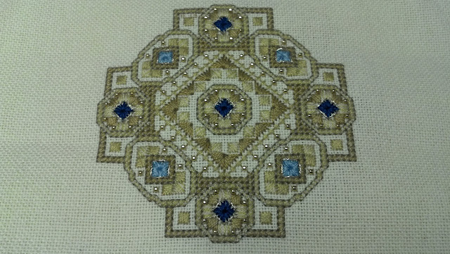 """Byzantine Ornament #5"" by Teresa Wentzler"