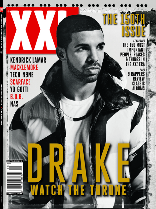 Magazine Love: Drake Graces the Cover of XXL's 150th Issue!!!!!! Congrats XXL!