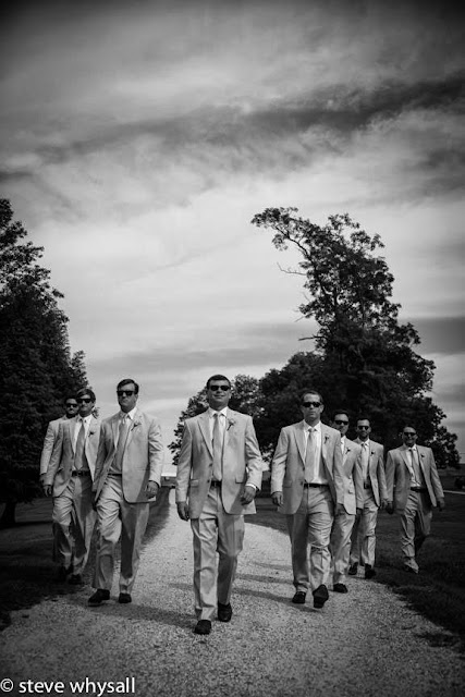 Stone Manor COuntry Club Groom and Groomsmen