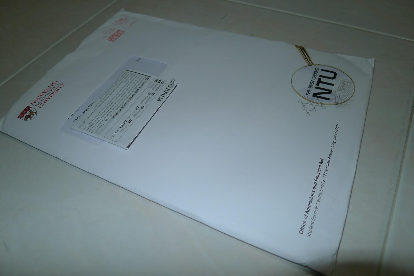 Solitous Diaspora 434 Ntu S Letter Of Acceptance