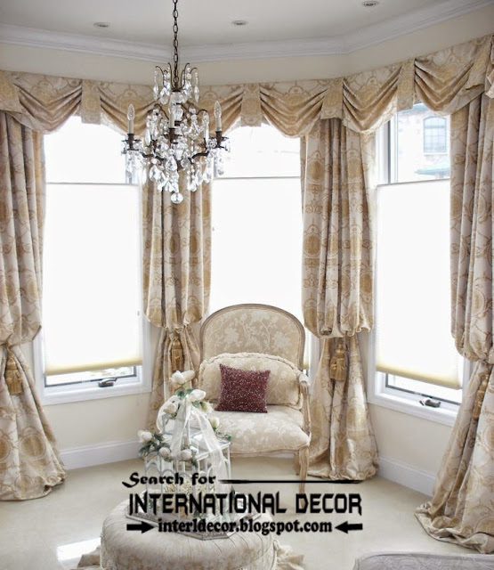 Top trends living room curtain styles, colors, window treatments