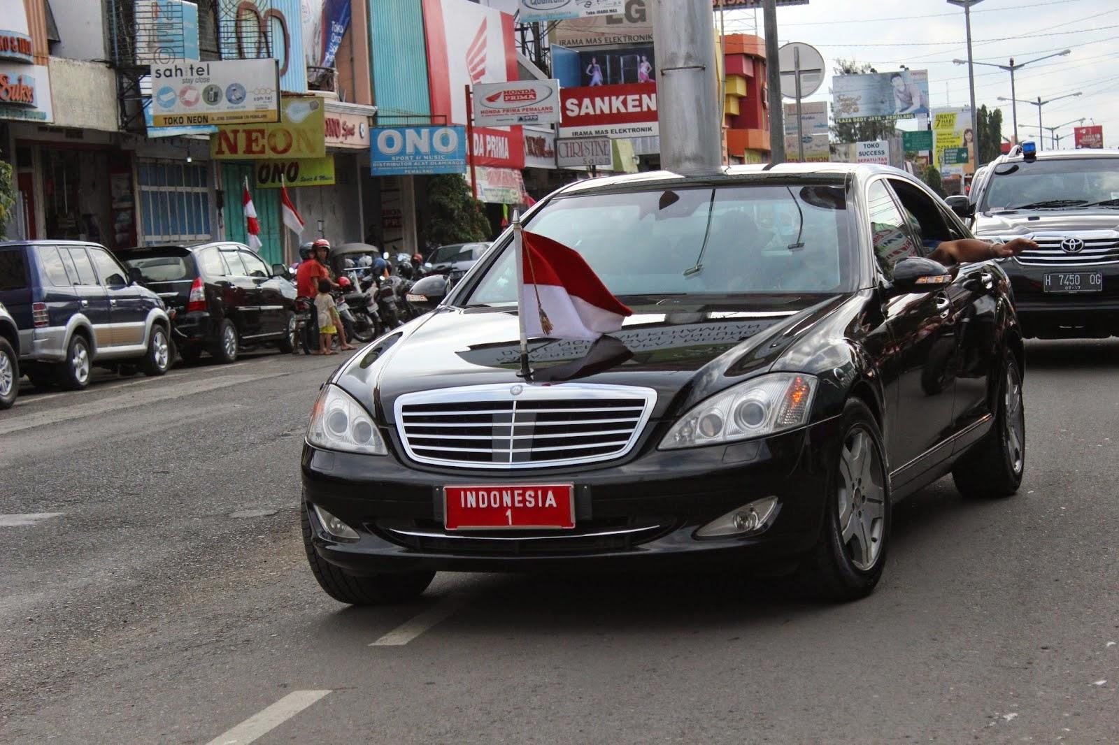 Mobil Presiden SBY