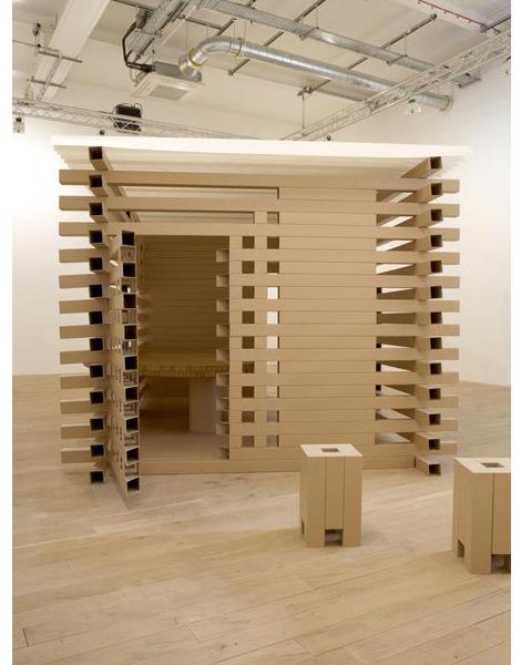 nbre de textes shigeru ban maison de th carton 2008. Black Bedroom Furniture Sets. Home Design Ideas