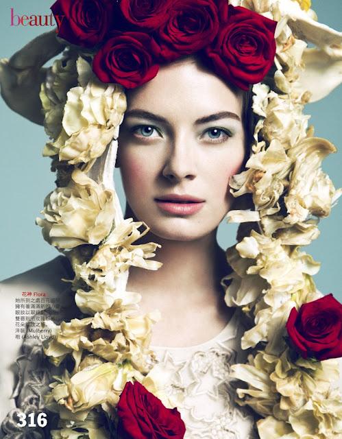 Model Julia Dunstall