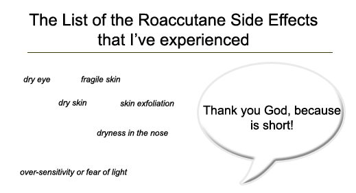Accutane Side Effects Sinus