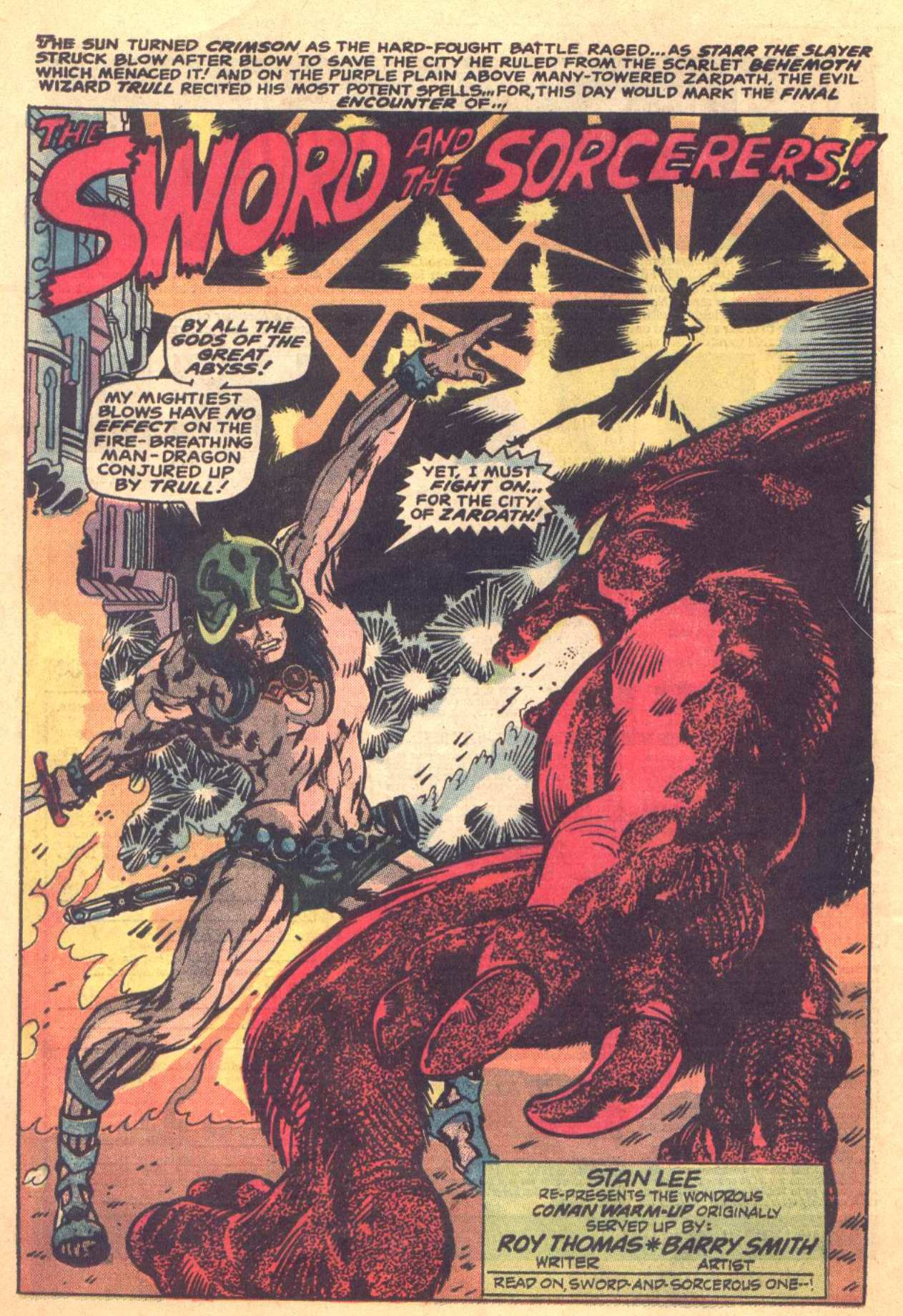 Conan the Barbarian (1970) Issue #16 #28 - English 13