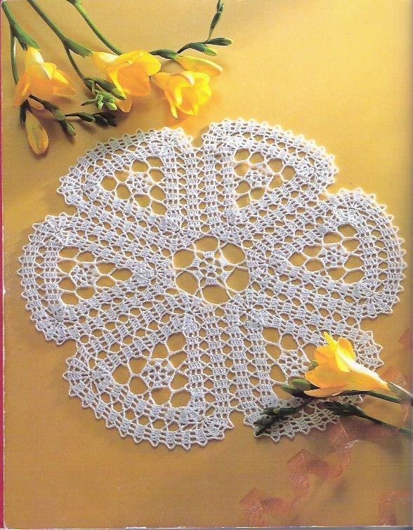 Excepcional Crochet Patrones De Mantel Navidad Ornamento - Ideas de ...