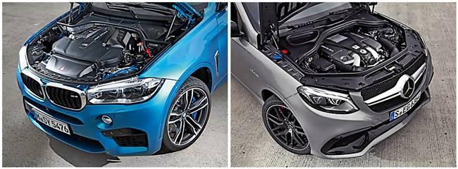 BMW X6 M vz Mercedes-AMG GLE 63 S