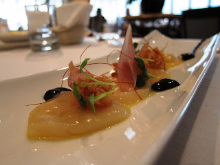 Hokkaido scallops at Le Papillon