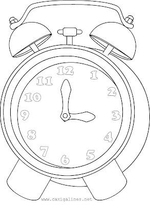 Dibujos de relojes