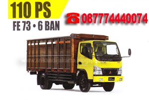 MITSUBISHI - FE 73 110 PS PS 6 BAN,BAK KAYU
