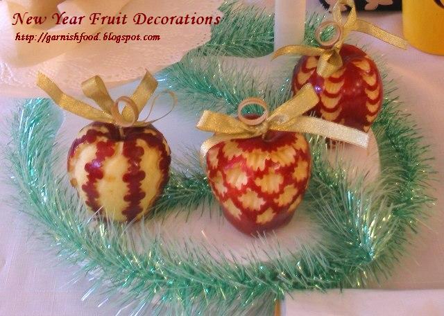 christmas fruit decorations