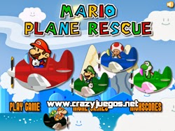 Jugar Mario Plane Rescue