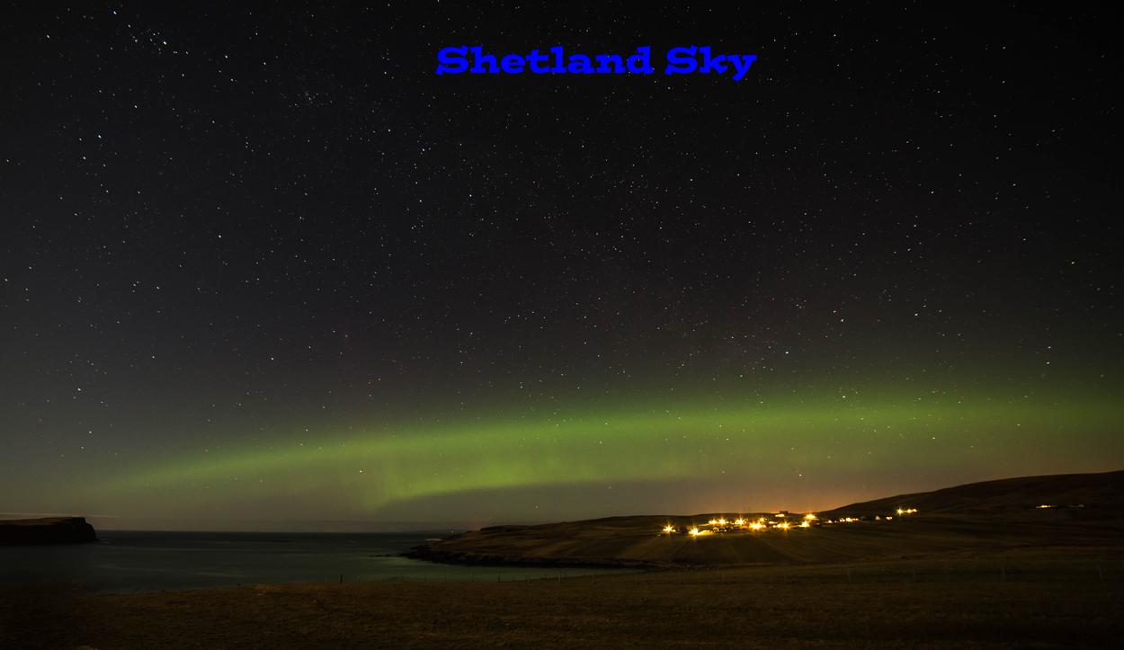 Shetland Sky