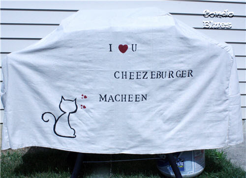 LOLCat grill cover