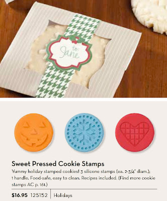 Sweet Pressed Cookie Stamps - www.jennsavstamps.blogspot.com