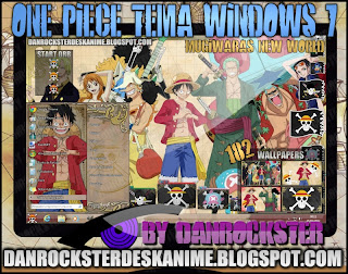 descargar tema de one piece para windows 7
