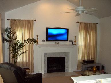 Tv Installation Over Fireplace Solderblogs