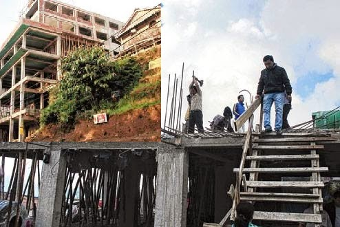 Darjeeling municipality to dismantle buildings taller than  the maximum permitted height