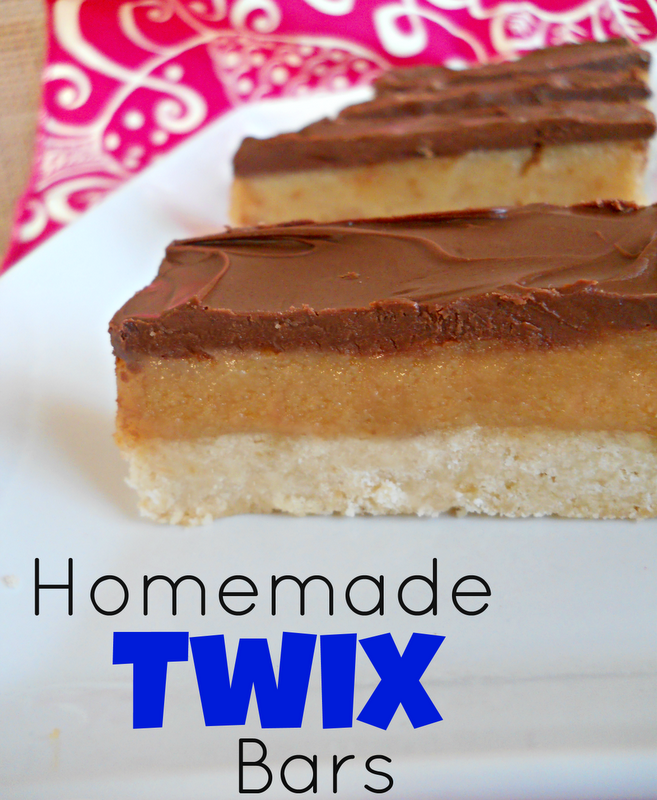 ... : July's Secret Recipe Club - Homemade Twix Bars