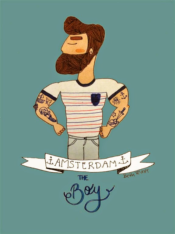 ⚓ The Amsterdams: the boy ⚓