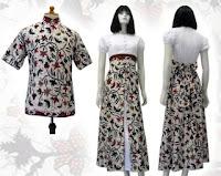 model baju batik untuk cewek
