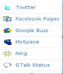 ping.fm site to ping to social networking site
