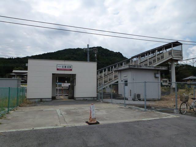 東武日光線 北鹿沼駅舎