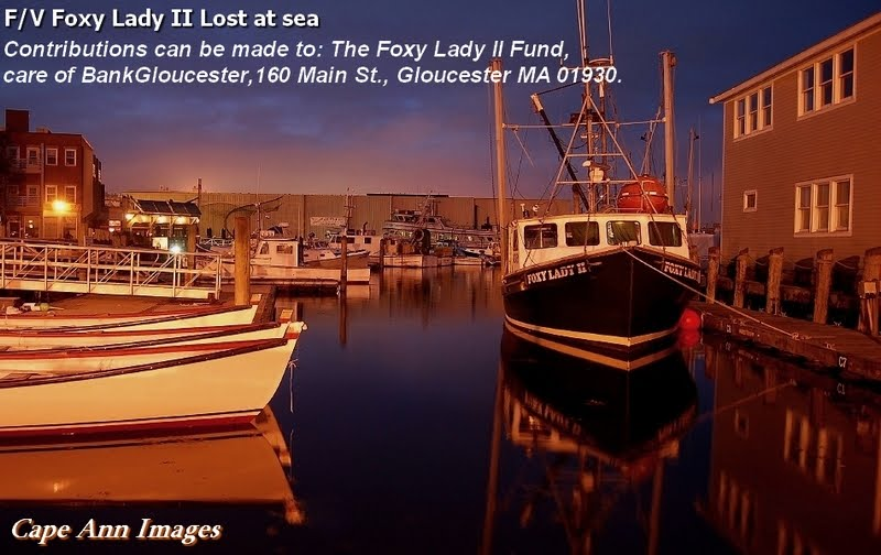 Please help the families of the F/V Foxy Lady II