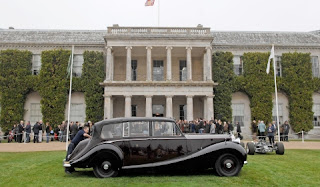 Queen's Diamond Jubilee Celebrated at Goodwood Festival of Speed 2012