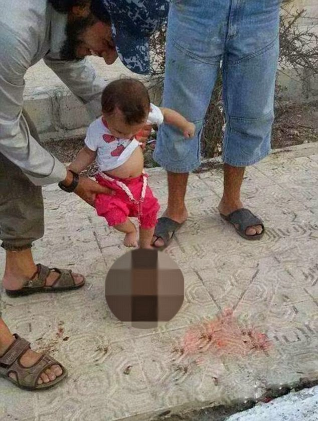 Shocking ISIS Photos Shows Toddler Kicking Severed Head