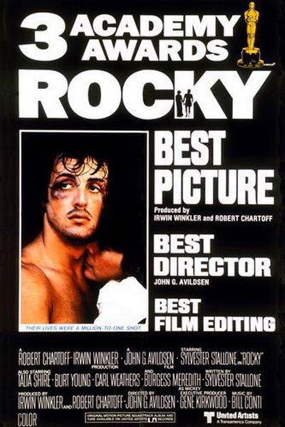 Rocky, Um Lutador - Vencedor de 3 Oscars