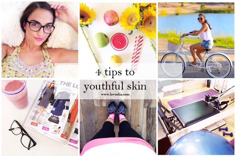 tipes to fresh youthful skin skincare hair exercise