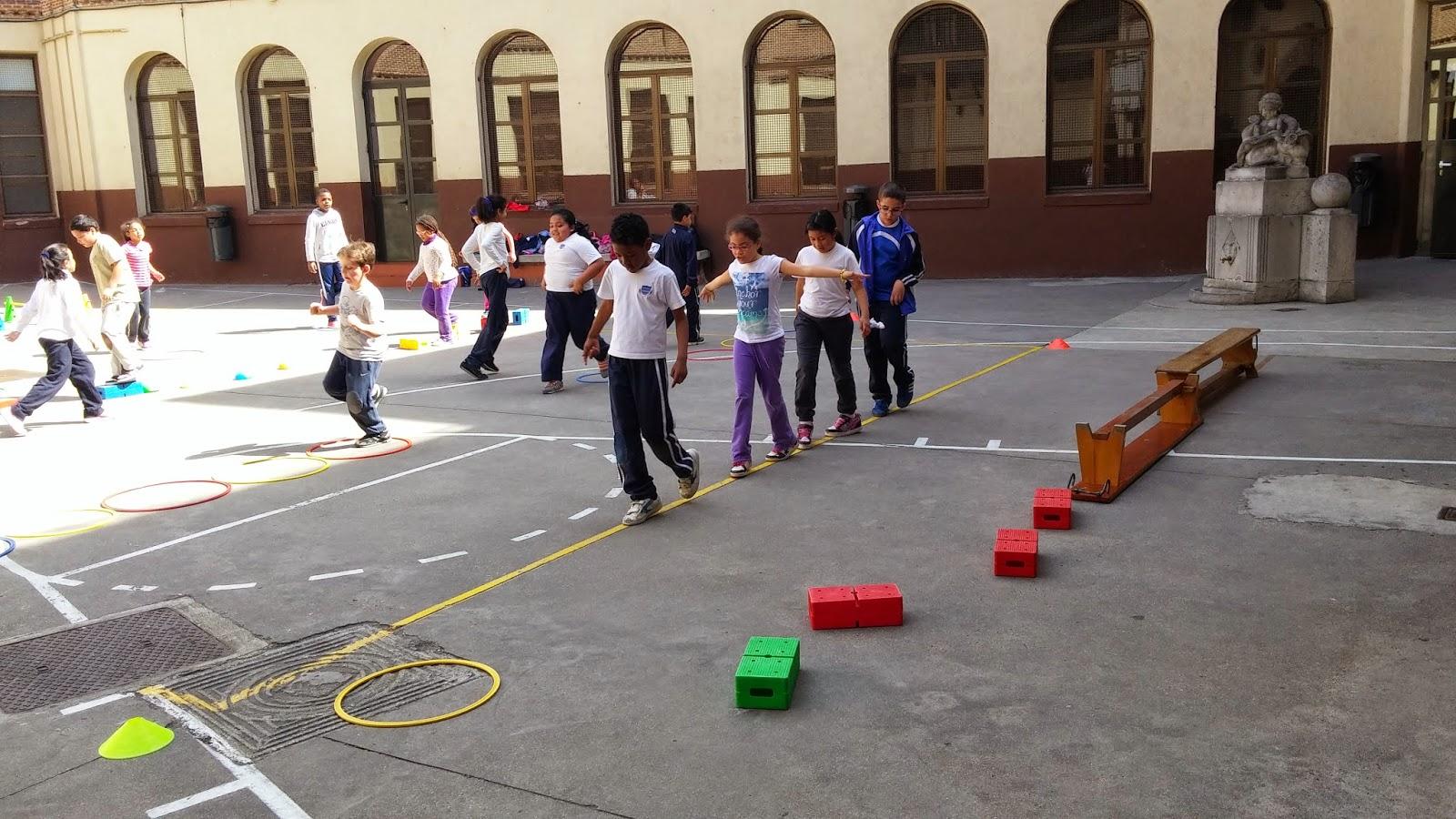 Circuito Juegos Para Niños : La educacion fisica segun tristan trabajando